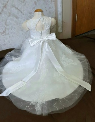 Baby wedding flower girl dress