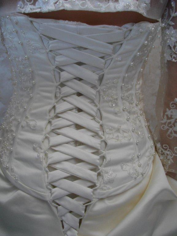 corset lace up back