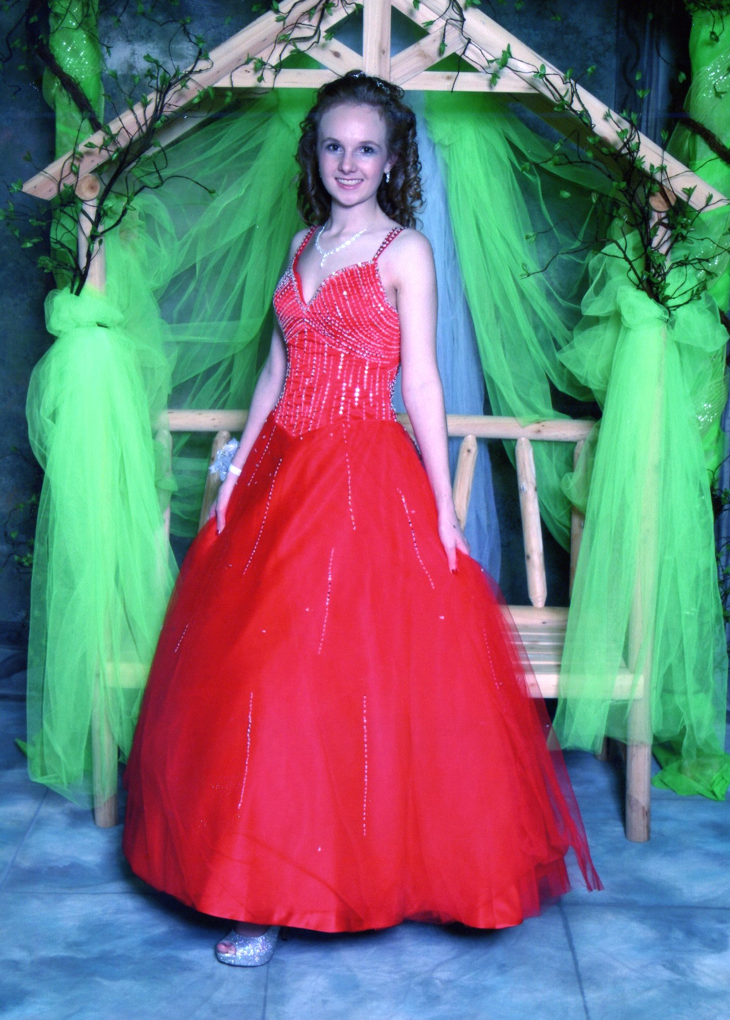 red prom dress review