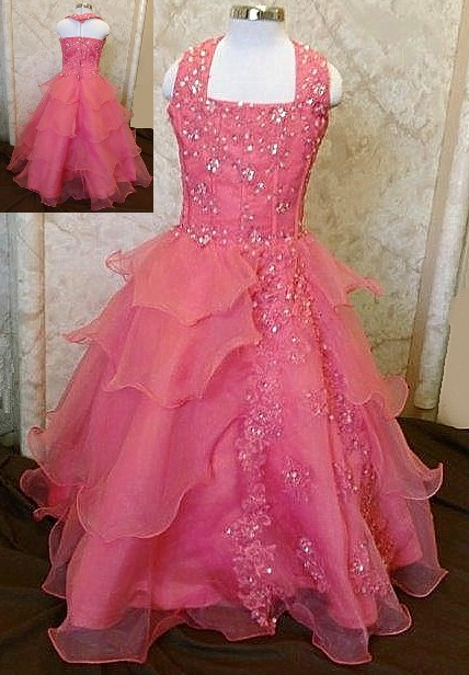little girls national pageant ball gowns