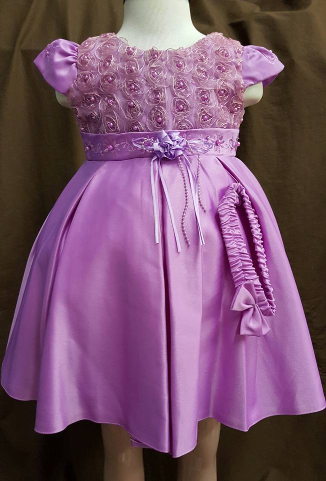 fancy purple dress
