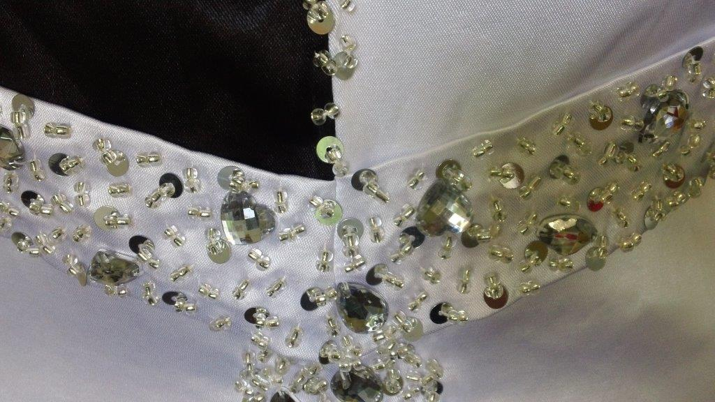 jeweled wedding gown
