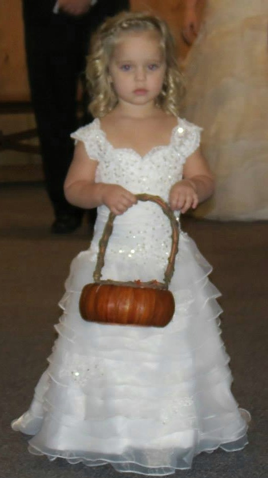 Infant and toddler wedding dresses