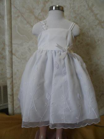 white toddler dress size 2