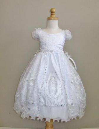 Virgin Mary christening gowns for girls