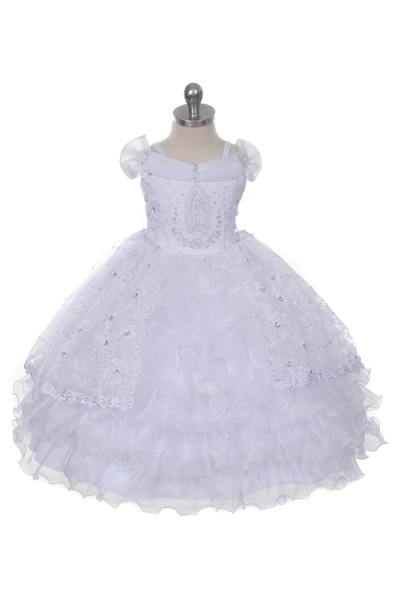 Virgin Mary christening gown