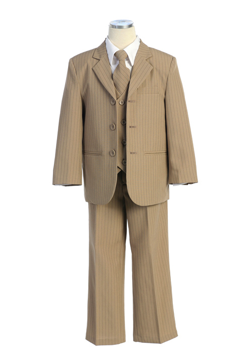 5 piece Pin Striped suits