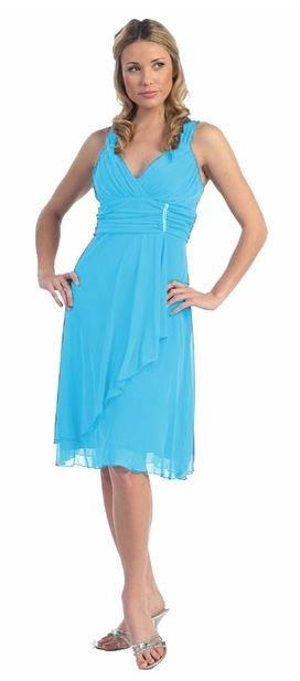 cheap turquoise blue dress