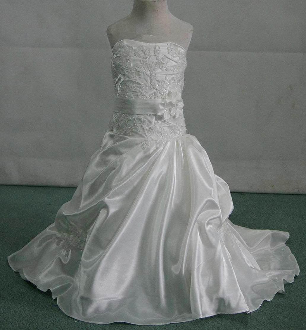 miniature bride dress