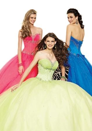 Teen and Juniors Ball Gown
