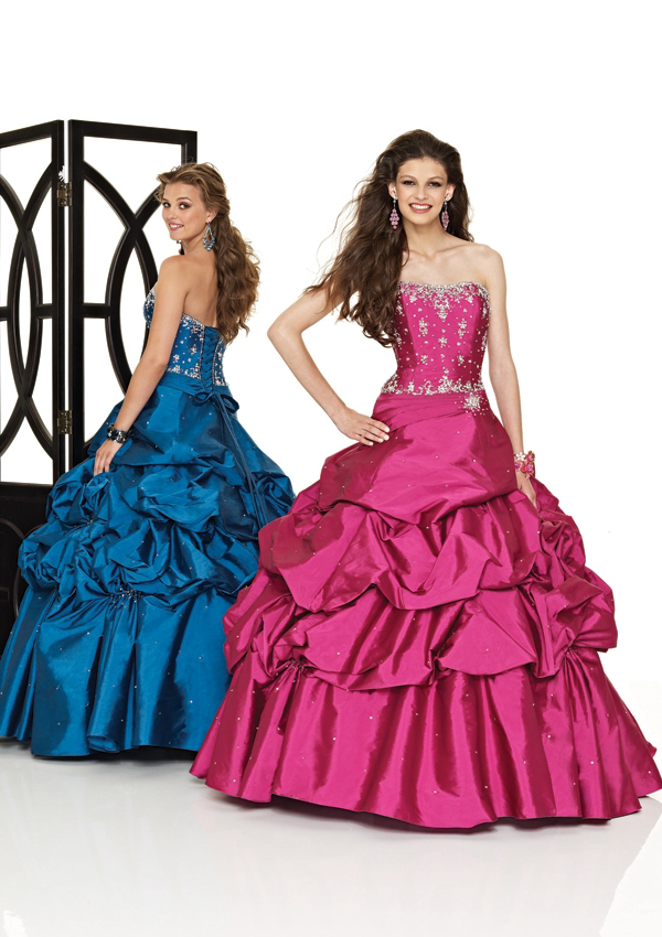 teen pageant pickup ball gown