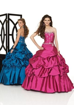 the prettiest super hot pink sweet 15th birthday dress