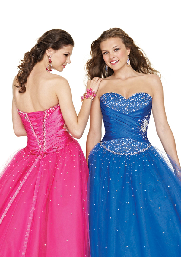 junior prom gown