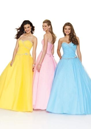 teens long dress