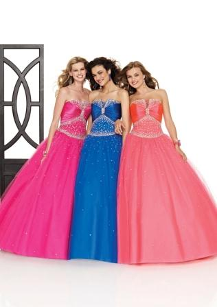 beaded gowns in 70 colors