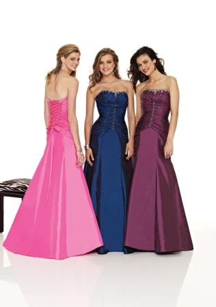 Halter beaded satin and tulle Plum, Navy, Raspberry ball gown