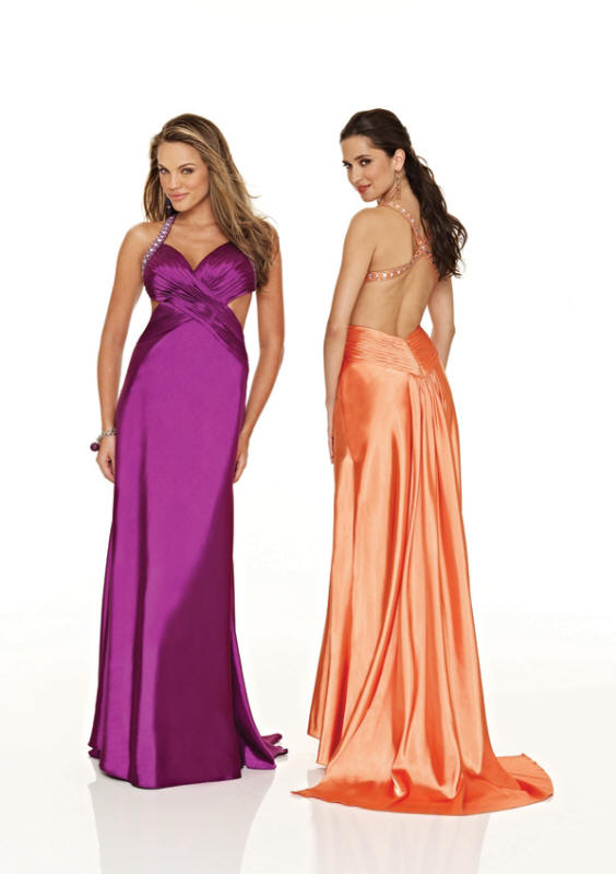 sexy gorgeous backless prom dresses