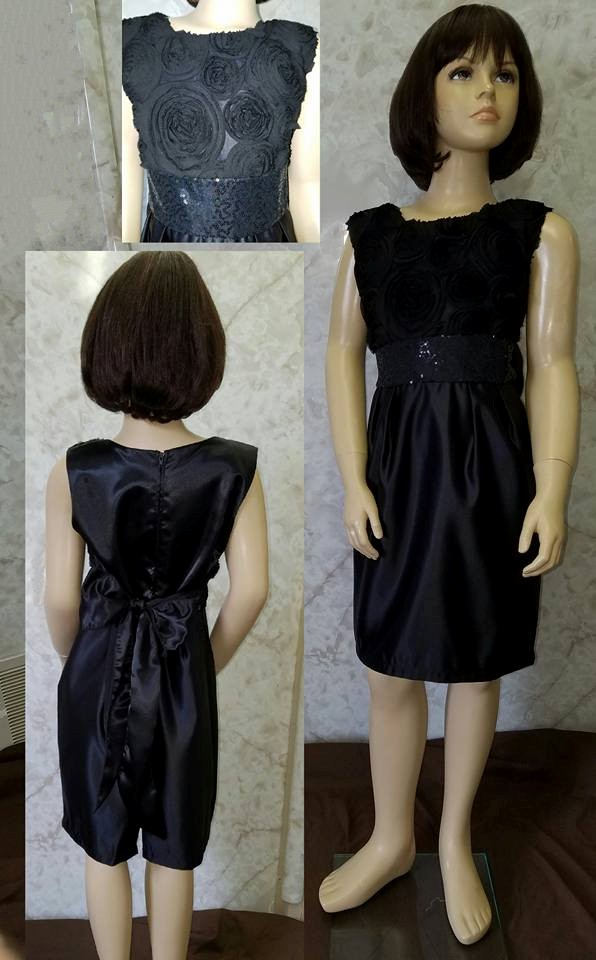inexpensive little black dress