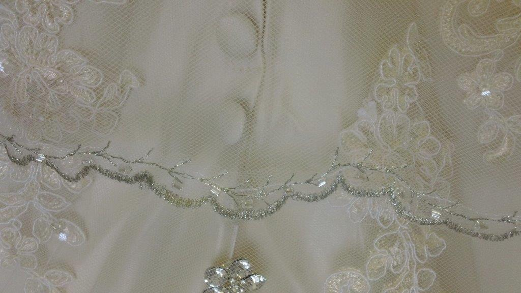 optional veil edging