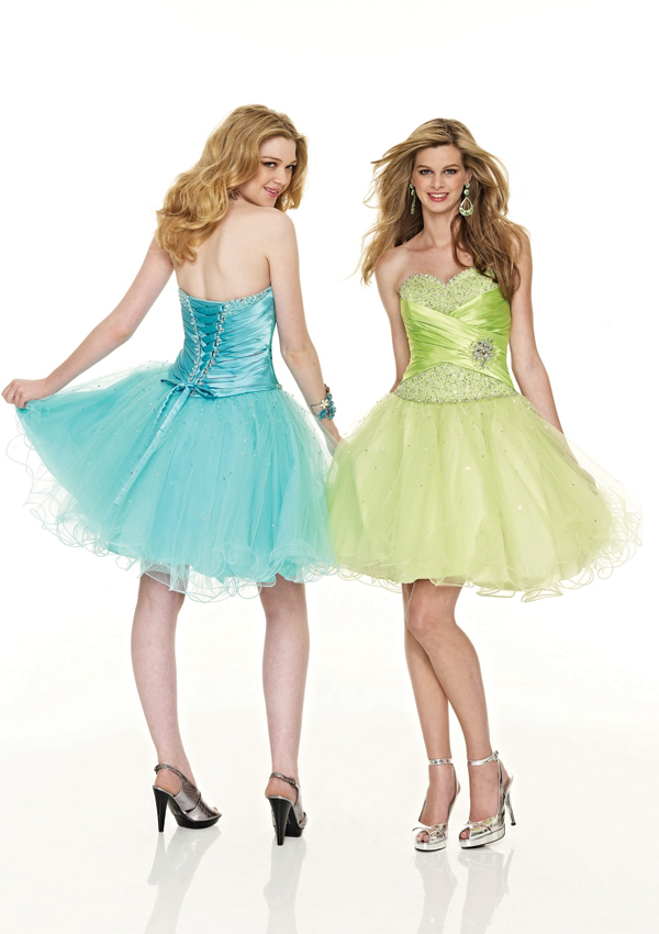 short Damas dresses