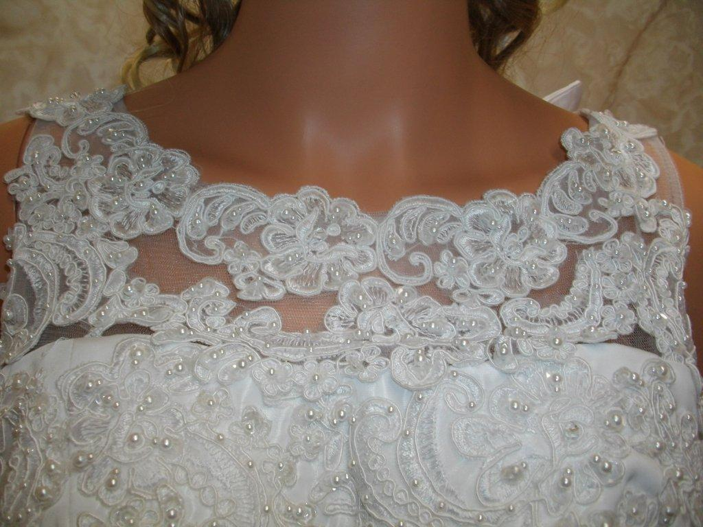 lace and beading