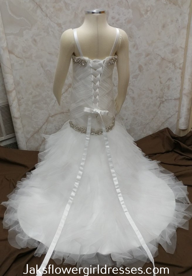 Flower Girl Dresses made to match wedding dresses