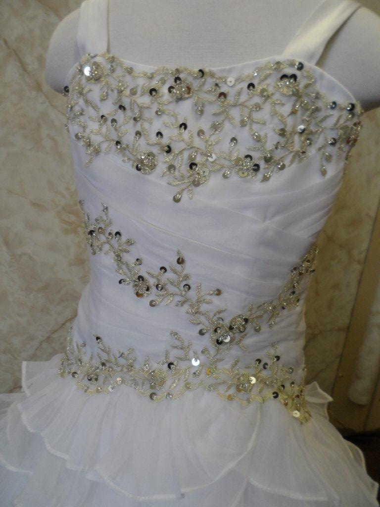 Embroidery Sequin Wedding Dresses
