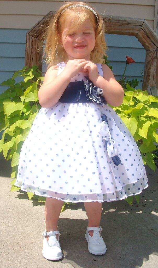 clearance flower girl dress