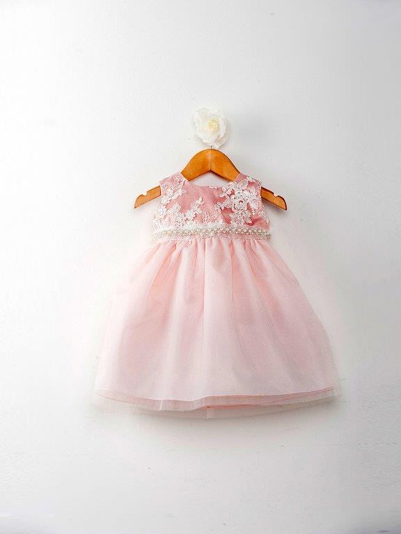 pink easter dresses for baby girls