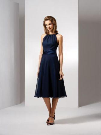 Navy Mother of the Bride Dresses