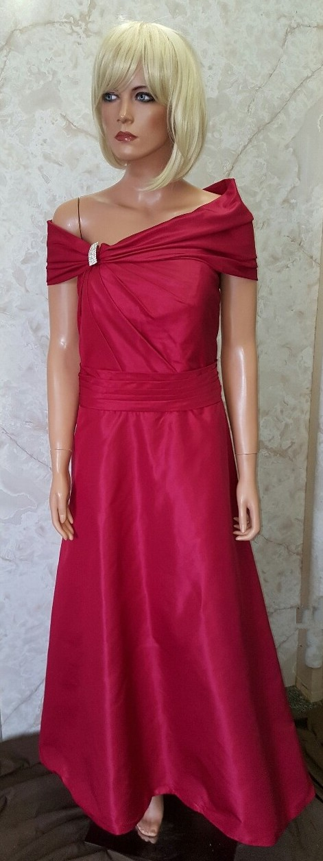 apple red dresses for bridesmaids