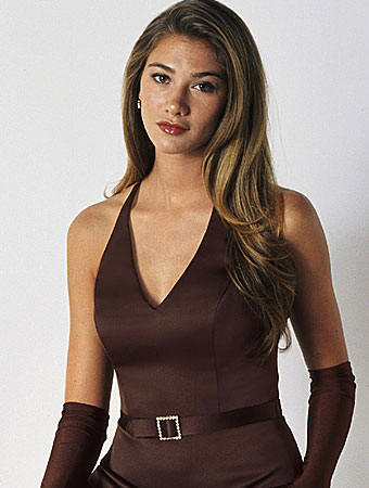 chocolate brown halter bridesmaid dress