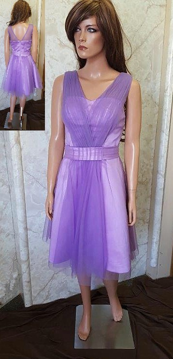 short light purple bridesmaid dresses