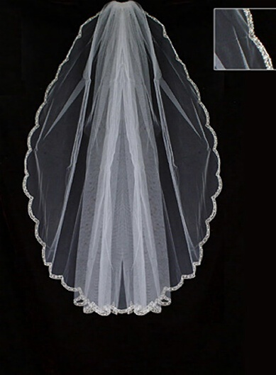 bridal veils cheap