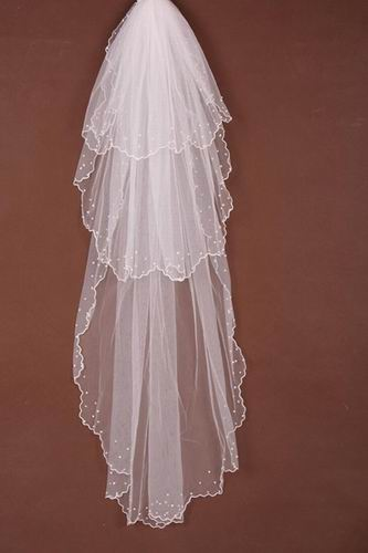 wedding veils for short hair