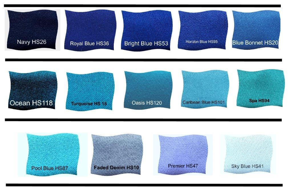 Blue Dress Fabric Choices