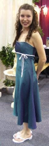 empire halter bridesmaid dresses $50