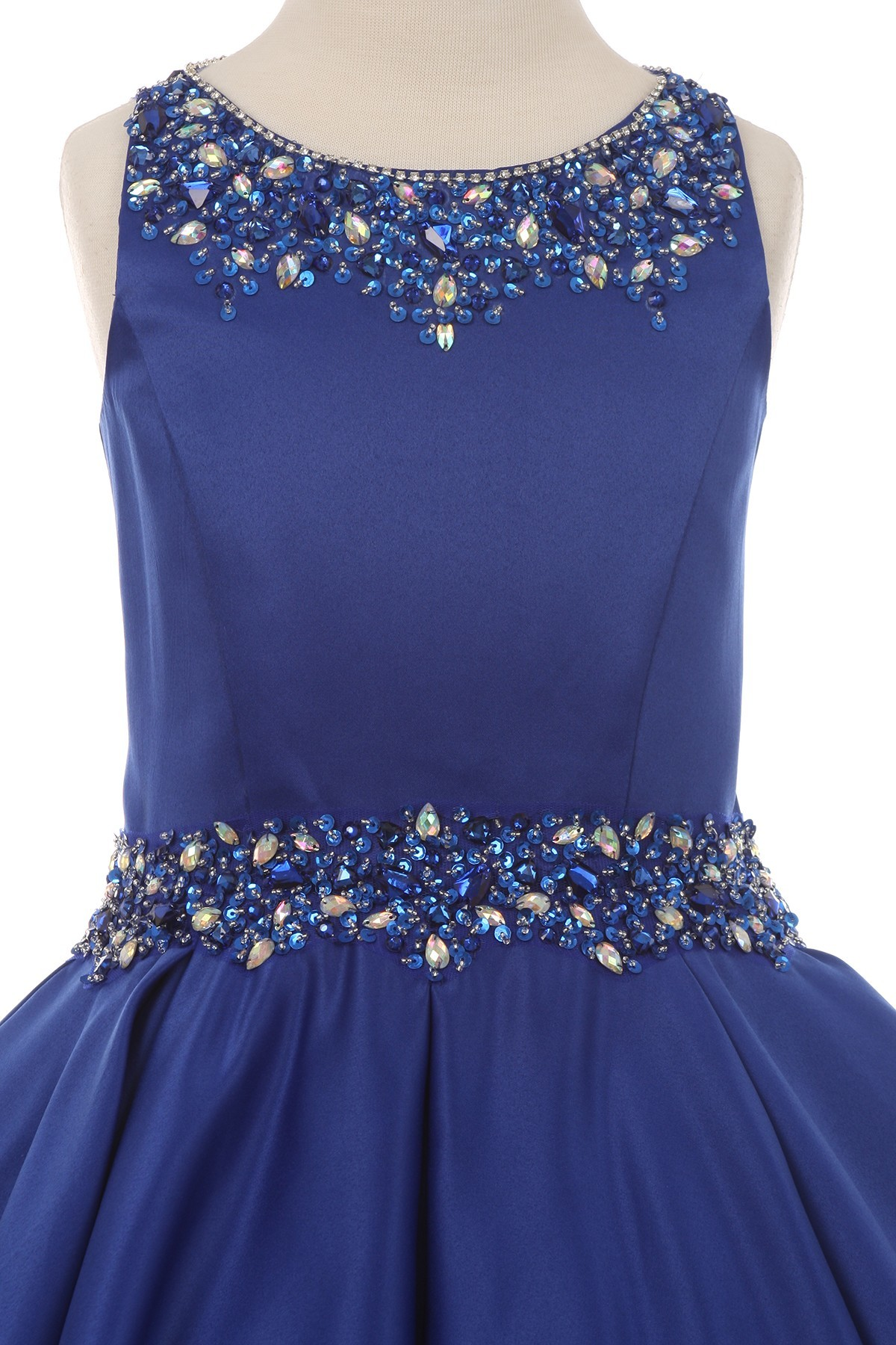 girls royal blue dresses