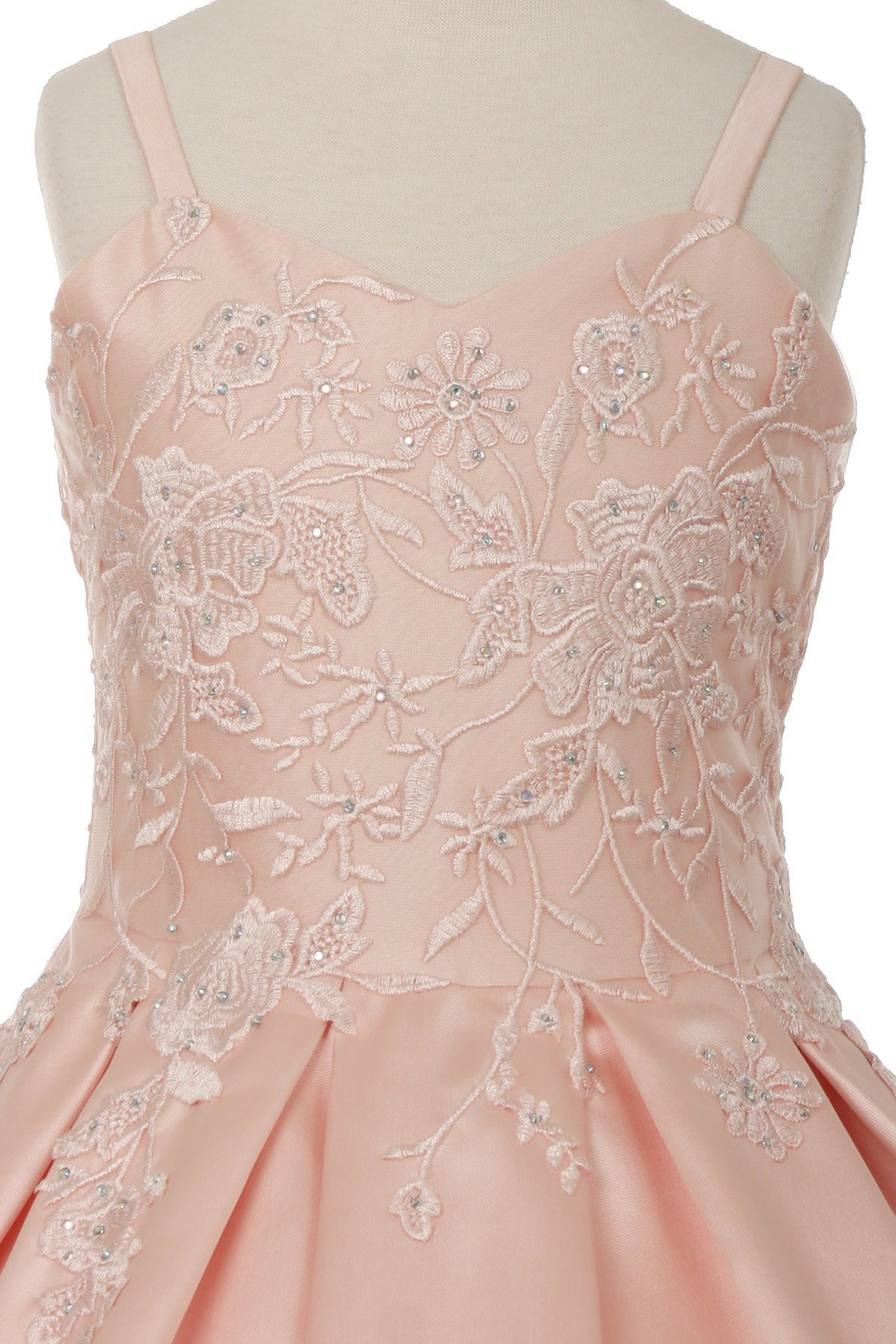 sweetheart embroidered dresses