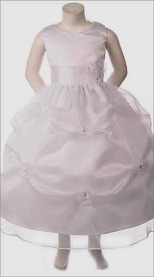 pick up style flower girl dress