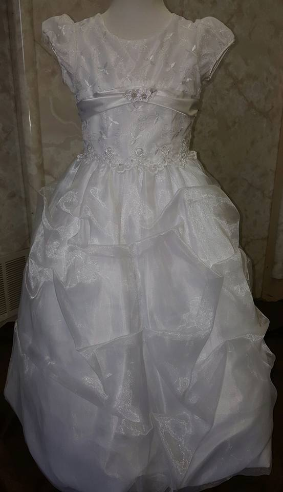 white size 4 dress