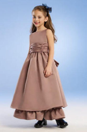 brown junior dress
