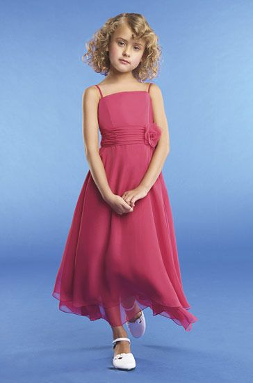 pink childrens dress
