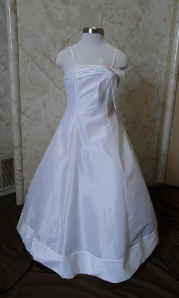 long white flower girl dresses $50