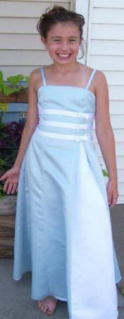 baby blue and white Pageant dress, available in baby blue, navy, pool, royal, teal, turquoise,