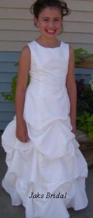 pick up flower girl dresses