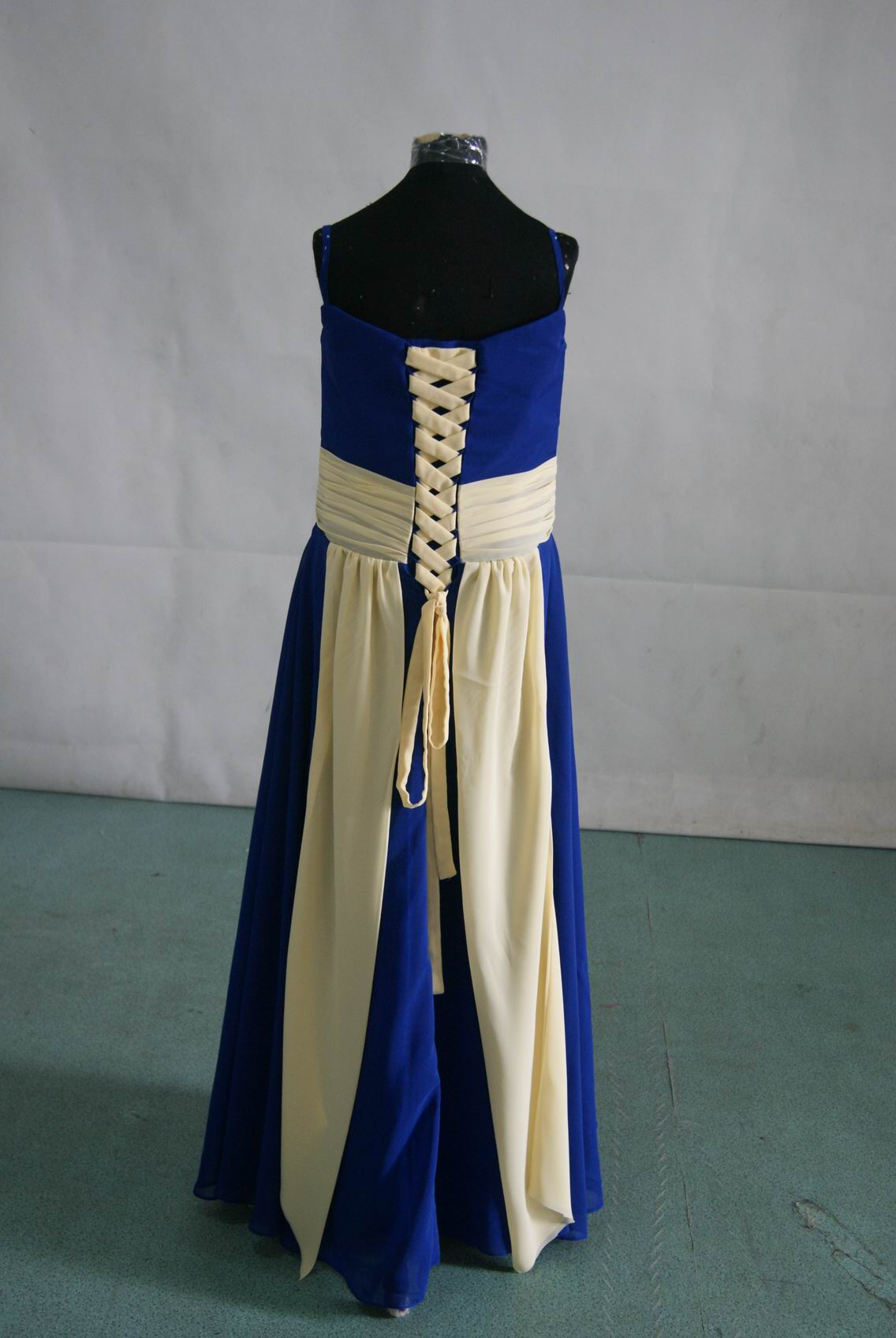 bridesmaid dresses royal blue and buttercup yellow
