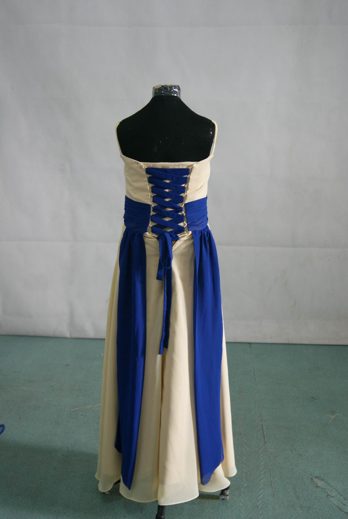 bridesmaid dresses blue and yellow