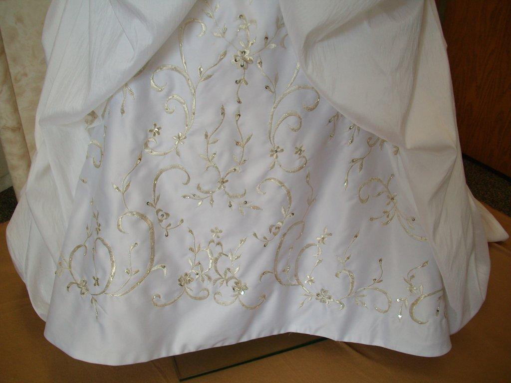 embroidered flower girl dresses