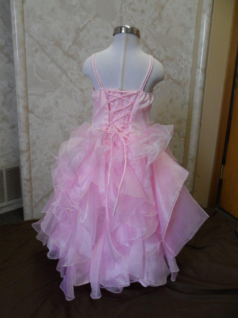 pink prom dresses young girls